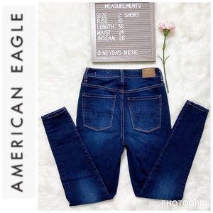 🦅NWOT AMERICAN Eagle super X-stretch Skinny Jean